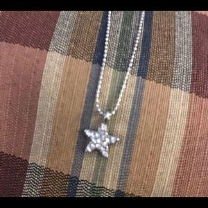 "🍀3 for $10🍀Lia Sophia ""Little Bit"" necklace STAR"